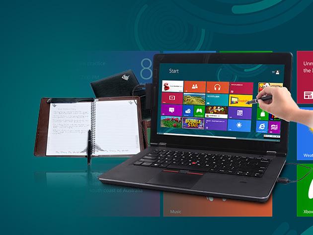 Az e-Touch Pen segítségével  érintésvezérelhető lesz monitorod, az e-Diary pedig elektronikusan tárolja jegyzeteidet!
