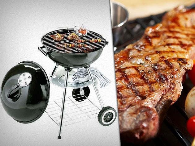 Gömb grillsütő 15.900 Ft-ért - Felejthetetlen grill partyk várnak rád ezután is!