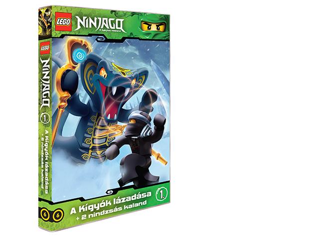 LEGO Ninjago 1.-es DVD (6) - AZONNAL ÁTVEHETŐ