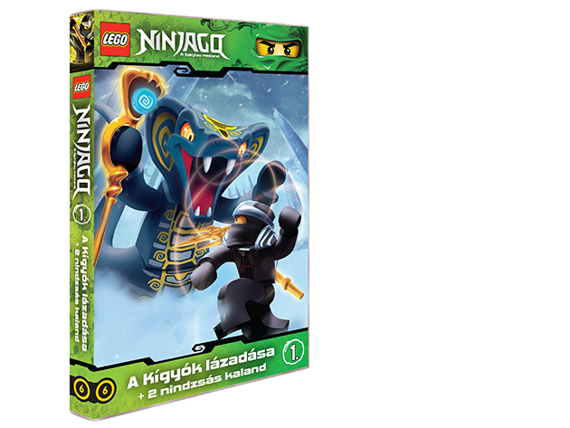 LEGO Ninjago 1.-es DVD (6)