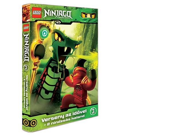 LEGO Ninjago 3.-as DVD (6)