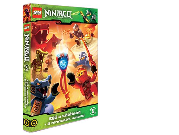LEGO Ninjago 5.-ös DVD (6)
