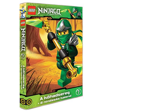 LEGO Ninjago 7.-es DVD (6)