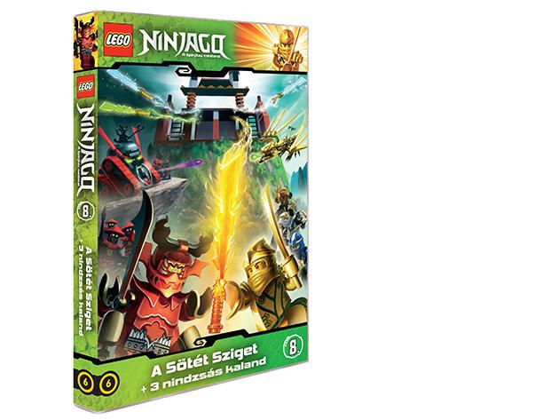 LEGO Ninjago 8.-as DVD (6)