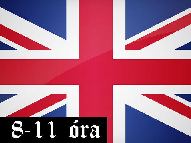 80 órás angol tanfolyam (8:00-11:00)