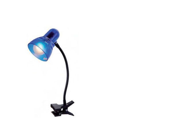 Csiptetős asztali lámpa flexi nyakkal
