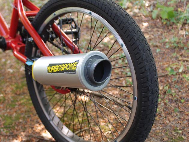 Turbospoke - A bicikli kipufogó