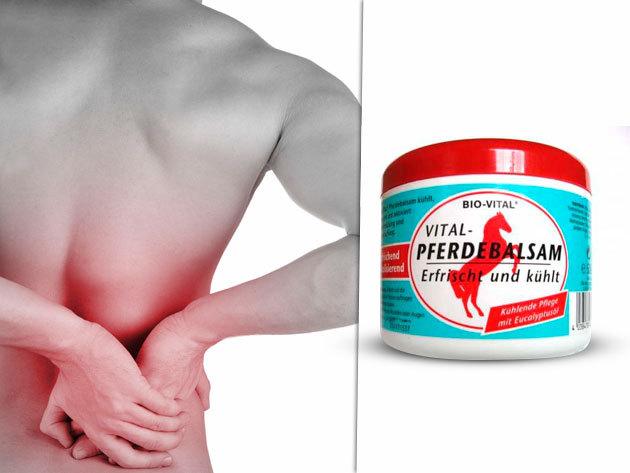 Bio-Vital Lóbalzsam 990 Ft-ért - reumás és izomfájdalmak csökkentésére!