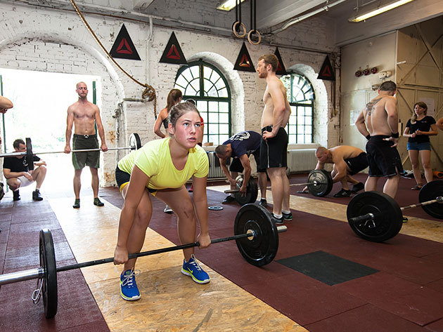 10 time occasions pass of Reebok CrossFit Duna