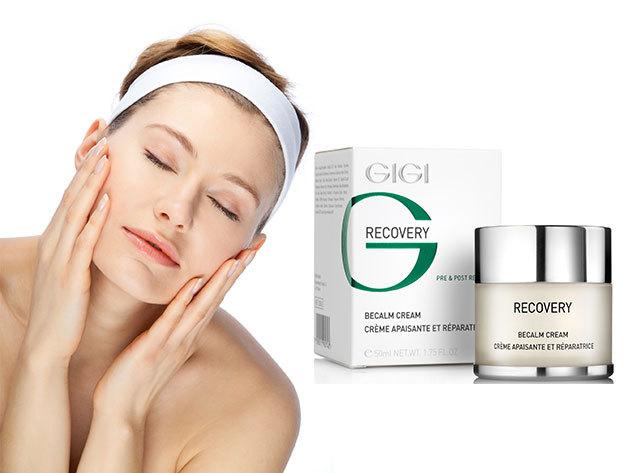 Napozás utáni bőrfrissítő arckezelés GIGI hidratáló luxus arckrémmel, 2.490 Ft-ért!