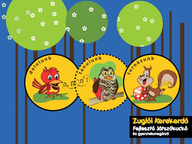 Fedezd fel a Kerekerdőt! - Készségfejlesztő élménypark Zuglóban 0-7 éves gyermekeknek, 790 Ft/alkalom!