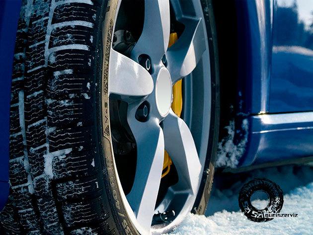 Téli gumi szerelés különböző méretű kerekekre, már 1.600 Ft-tól!