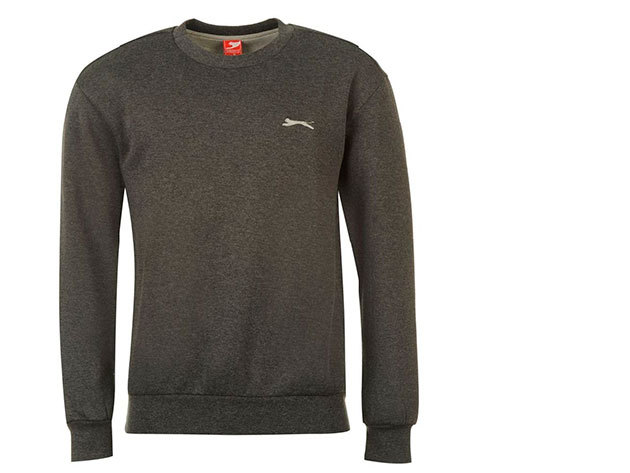 Slazenger férfi pulóver - sötétszürke