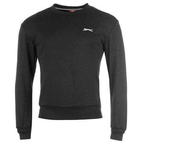 Slazenger férfi pulóver - fekete