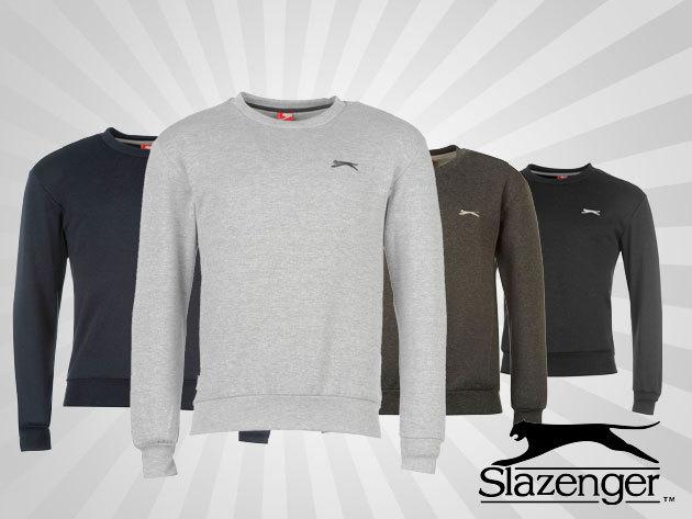 Ősziesítsd ruhatáradat! Slazenger férfi pulóver 4 színben 2.990 Ft-ért!