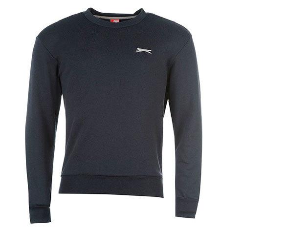 Slazenger férfi pulóver - sötétkék