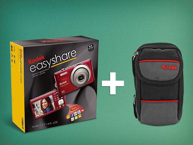 Kodak Easyshare M23 digitális fényképezőgép + Kodak Device tok