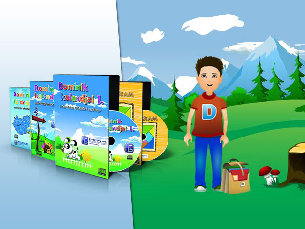 eDominik: interaktív oktató és felkészítő tananyagok alsósoknak, ovisoknak!