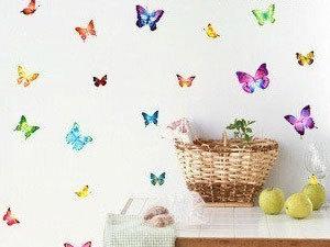 Pillangók falmatrica (7x16 cm - 9x5 cm-ig)