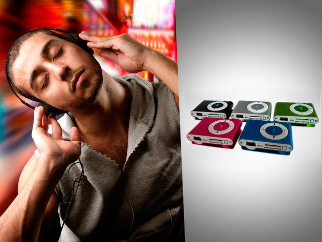 MP3 lejátszó USB kábellel, fülhallgatóval és 4 GB-os Micro SD kártyával!