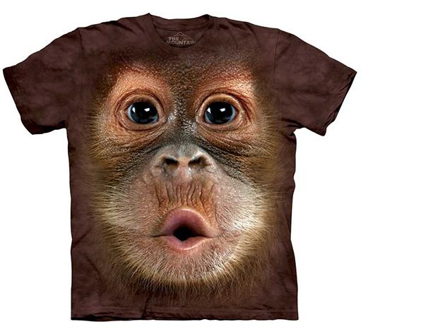 Big Face Baby Orangutan (gyerek)
