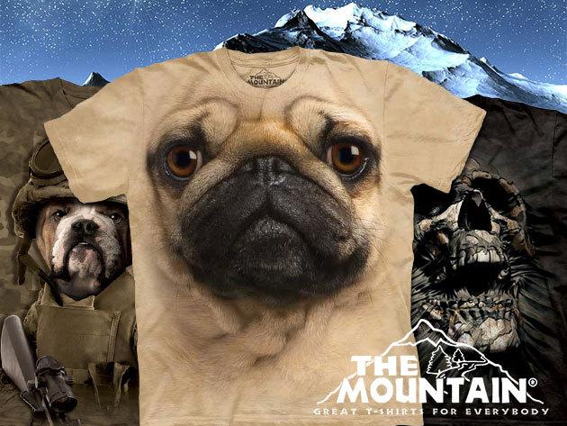Eredeti amerikai, környezetbarát TheMountain pólók oldalvarrás nélkül, felnőtt és gyermek méretben!