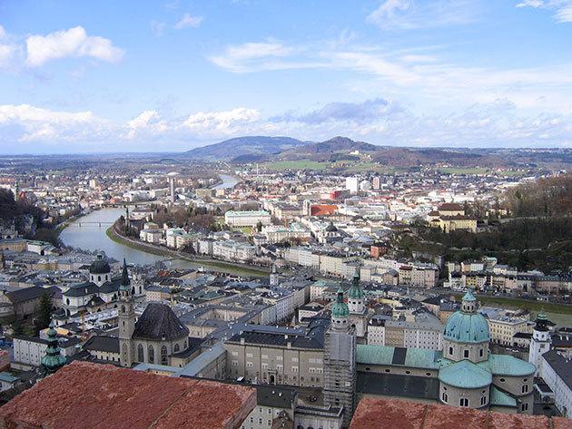 3 nap 2 éjszaka 2 fő részére reggelivel Salzburgban - AMEDIA Hotel Salzburg - 1 évig érvényes voucher
