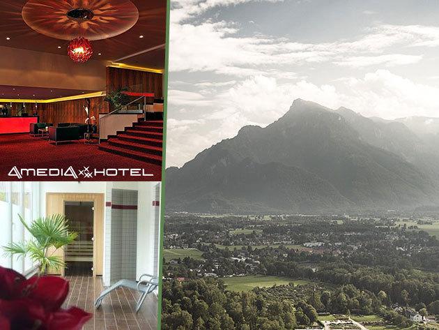 3 nap/2 éj Salzburgban 2 fő részére, az AMEDIA Hotel**** vendéglátásában, reggelivel!