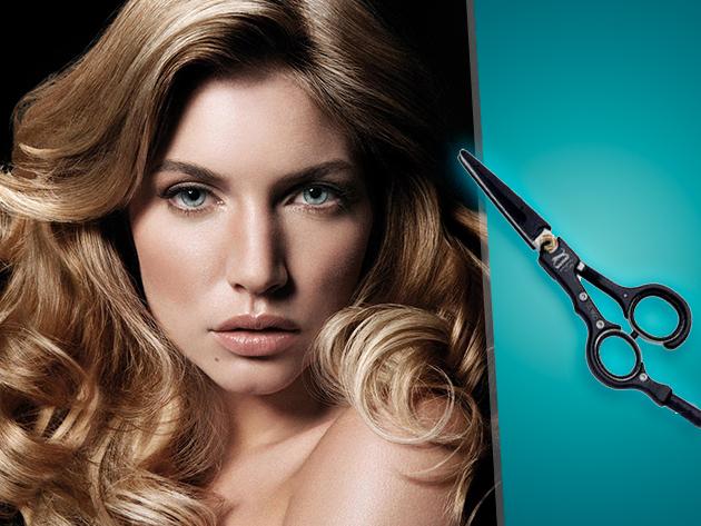 Melegollós wellness hajvágás hajszerkezet javító pakolással Óbudán!
