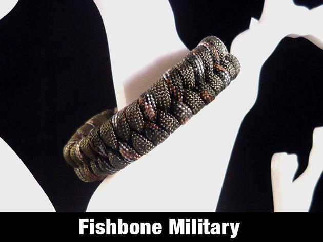 Fishbone túlélő karkötő