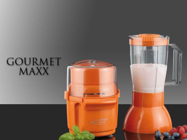 Gourmet Maxx 2 in 1 multifunkciós aprító és turmixgép!