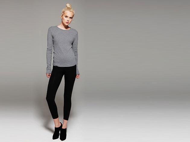 Bella & Canvas Női hosszúujjú póló, 100 % pamut
