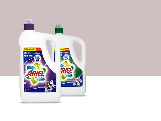 2 db Ariel Actilift 4,75l fehér vagy színes ruhákhoz