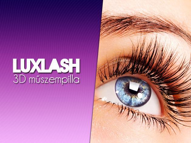 3D LuXLash műszempilla, mintha a sajátod lenne, észrevehetetlenül tökéletes!