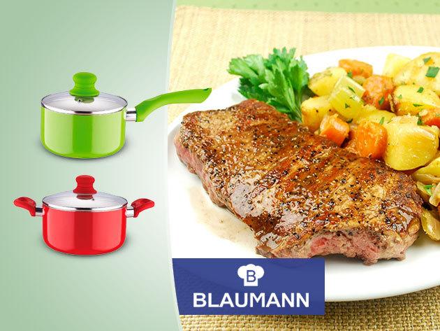 BLAUMANN edények kétrétegű kerámia bevonattal az egészségesebb ételekért!