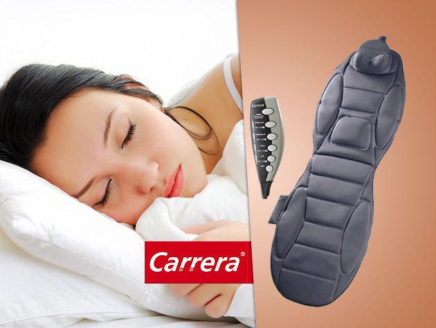 Carrera többfunkciós luxus masszázsmatrac – kényeztető terápia az otthonodban!