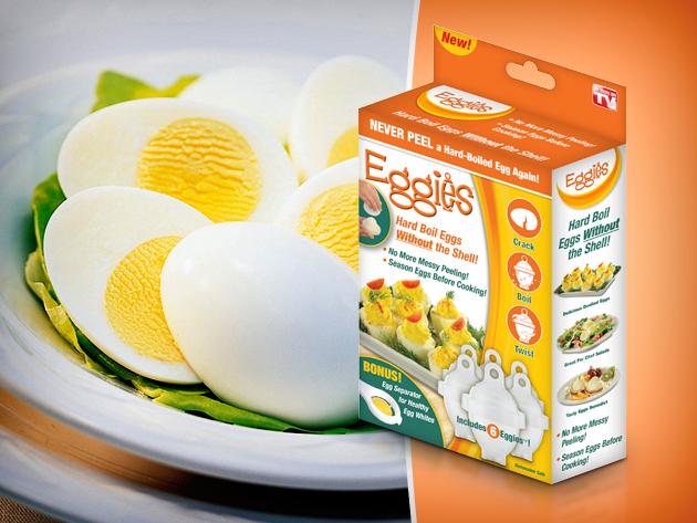 Eggies tojásfőző – készíts kemény tojásokat a héjuk nélkül gyorsan, egyszerűen!