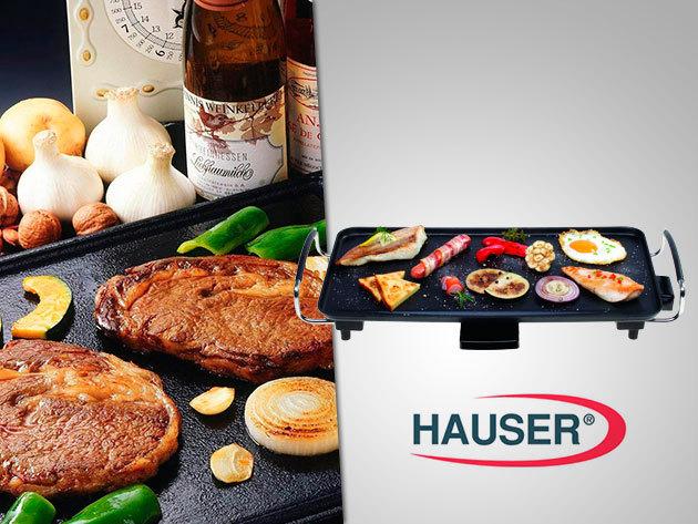 Hauser GR-200 elektromos grillsütő tapadásmentes bevonattal!