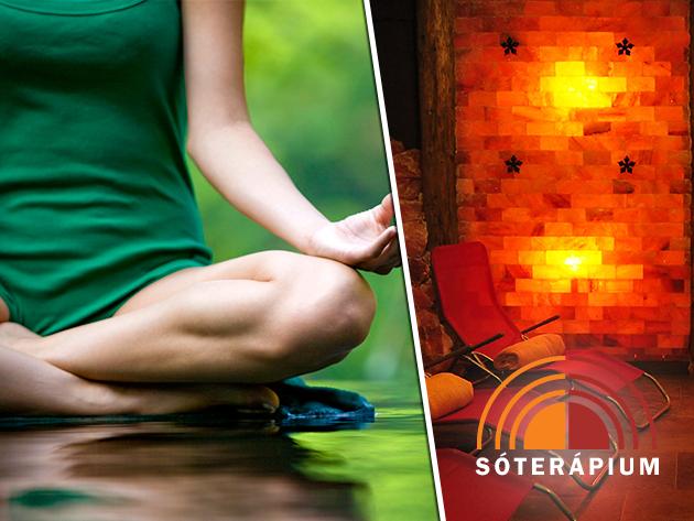 1 vagy 3 alkalom 90 perces gerinc jóga a sóbarlangban + 1 alkalom ajándék sóbarlang belépő!