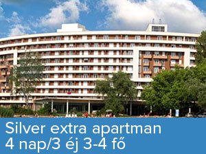 4 nap/3 éj 3-4 fő részére Silver Extra apartmanban