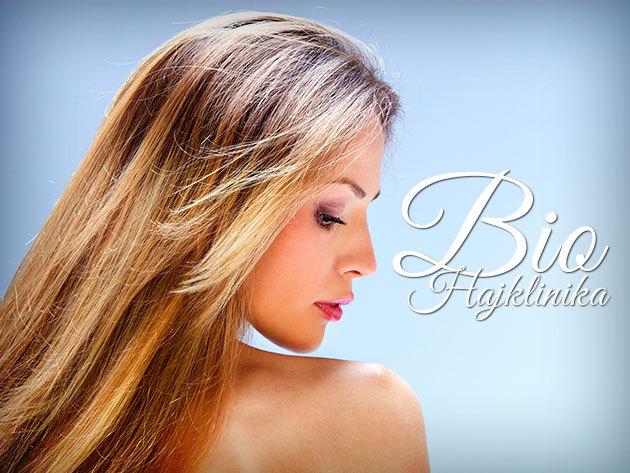 Női hajvágás mosással és ózonbúrás hajkezeléssel a Bio Hajklinikán!
