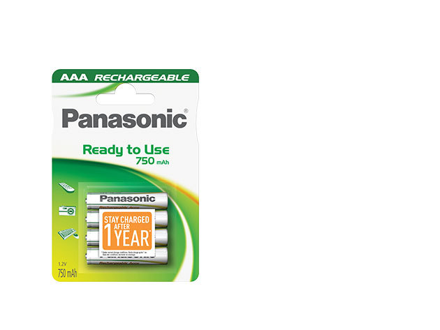 P03I/4BC800 EVOLTA Azonnal használható 750mAh AAA (micro) akkumulátor