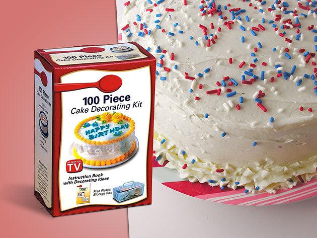 100 részes tortakészítő és dekorációs készlet nem csak konyhatündéreknek!