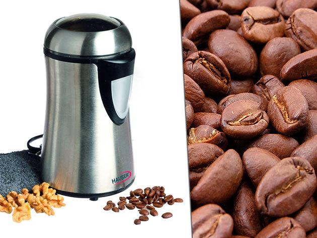 Hauser G-741 daráló: kávé, mák, dió, olajos magvak és fűszerek darálására!