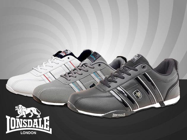 Lonsdale Seneka férfi sportcipő – fekete 6c7c4002db