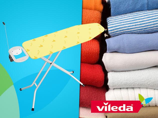 VILEDA Viva Express Eco vasalóállvány – a kényelmes és gyors vasalásért!