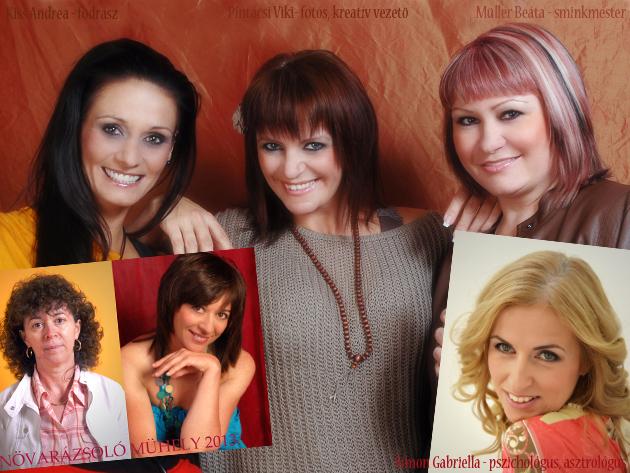 Pszichológus, frizura, smink, fotók - Öt hetes nőiség tréning teljes Nővarázsolással!