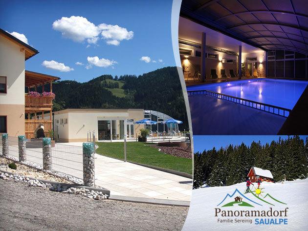 Természet és wellness Ausztriában - Panoramadorf Saualpe 4 nap /3 éj 2 fő részére félpanzióval!