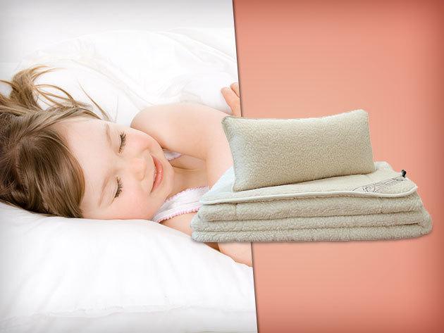 3 részes merinoflor gyapjú jellegű ágynemű garnitúra – a nyugodt alvásért!