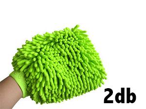 Mikroszálas kesztyű doupack 2 db